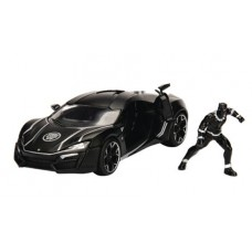 METALS MARVEL BLACK PANTHER LYKAN 1/24 VEHICLE