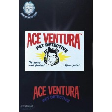 ACE VENTURA BUSINESS CARD PIN