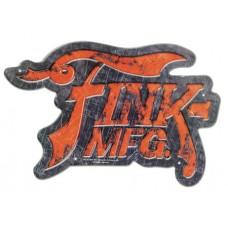 BIOSHOCK FINK MANUFACTURING TIN SIGN