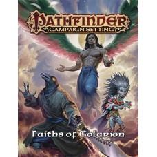 PATHFINDER RPG CAPMPAIGN SETTING FAITHS GOLARION