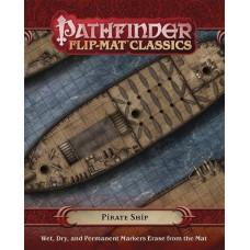 PATHFINDER RPG FLIP MAT CLASSICS PIRATE SHIP