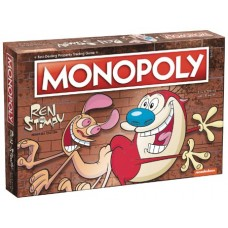 MONOPOLY REN AND STIMPY BOARD GAME