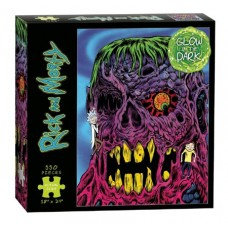 RICK & MORTY EYE SEE YOU GLOW IN THE DARK 550 PC PUZZLE
