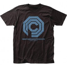ROBOCOP OMNI CONSUMER PRODUCTS LOGO T/S MED