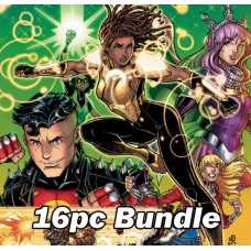 DC - OCT PREVIEWS CARD STOCK VARIANT BUNDLE @A