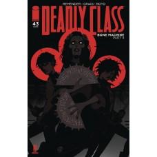 DEADLY CLASS #43 CVR A CRAIG (MR) @D