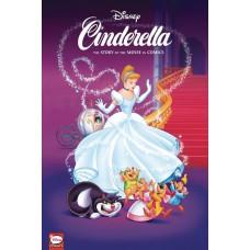 DISNEY CINDERELLA STORY OF MOVIES IN COMICS HC @G
