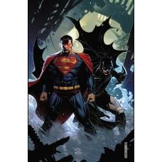 BATMAN SUPERMAN #5 CARD STOCK VAR ED @D