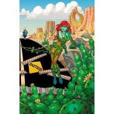HARLEY QUINN & POISON IVY #4 (OF 6) CARD STOCK POISON IVY VA @D