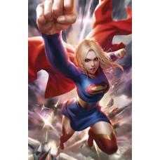 SUPERGIRL #37 CARD STOCK VAR ED @D