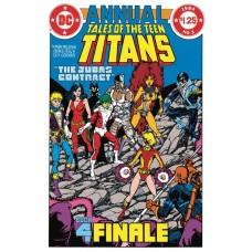 DOLLAR COMICS TALES OF THE TEEN TITANS ANNUAL #3 @D