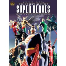JUSTICE LEAGUE WORLDS GREATEST HEROES BY ROSS & DINI TP @D