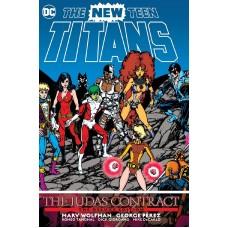 NEW TEEN TITANS THE JUDAS CONTRACT DLX ED HC @D