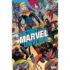HISTORY OF MARVEL UNIVERSE #6 (OF 6) RODRIGUEZ VAR @D