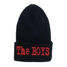 THE BOYS SERIES LOGO KNIT BEANIE @F