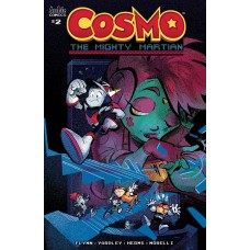 COSMO MIGHTY MARTIAN #2 (OF 5) CVR C SKELLY @D