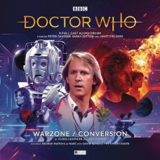 DR WHO 5TH DOCTOR WARZONE CONVERSION AUDIO CD @F