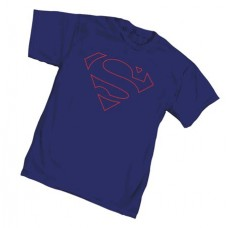 SUPERMAN CORE SYMBOL T/S SM @U