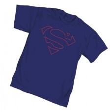 SUPERMAN CORE SYMBOL T/S LG @U