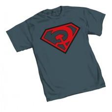 SUPERMAN RED SON SYMBOL T/S MED @U