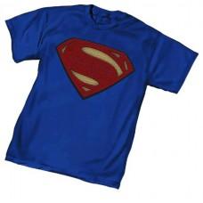 BATMAN V SUPERMAN SUPERMAN SYMBOL T/S XXL @U
