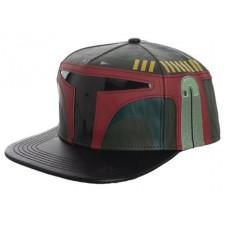 STAR WARS BOBA FETT EMBROIDERED SNAPBACK CAP W/SOUND CHIP @U