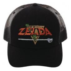 LEGEND OF ZELDA PRECURVED TRUCKER CAP @U
