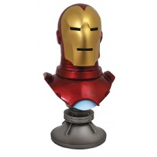 LEGENDS IN 3D MARVEL COMIC IRON MAN 1/2 SCALE BUST @U