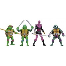 TMNT TURTLES IN TIME 7IN ACTION FIGURE ASST @F