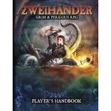 ZWEIHANDER GRIM & PERILOUS RPG PLAYERS HANDBOOK HC @F