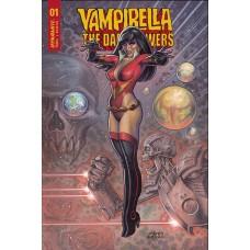 VAMPIRELLA DARK POWERS #1 CVR C LINSNER