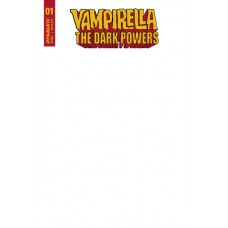VAMPIRELLA DARK POWERS #1 BLANK AUTHENTIX CVR