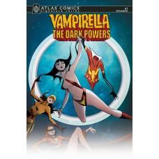 VAMPIRELLA DARK POWERS #1 ATLAS LEE SGN ED