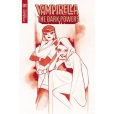 VAMPIRELLA DARK POWERS #1 MOMOKO CRIMSON RED LINE ART CVR