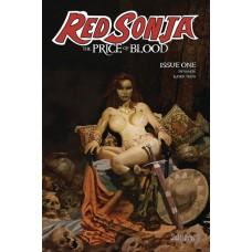RED SONJA PRICE OF BLOOD #1 CVR A SUYDAM