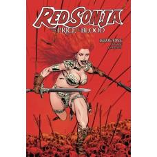 RED SONJA PRICE OF BLOOD #1 CVR B GOLDEN