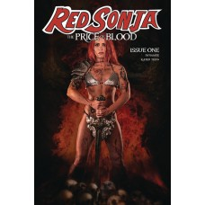 RED SONJA PRICE OF BLOOD #1 CVR E RAY COSPLAY