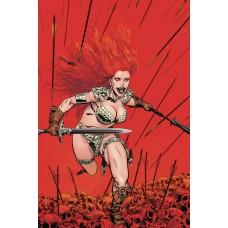 RED SONJA PRICE OF BLOOD #1 GOLDEN LTD VIRGIN CVR