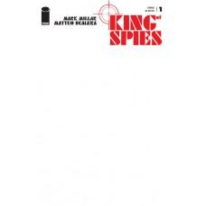 KING OF SPIES #1 (OF 4) CVR E BLANK CVR (MR)