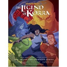 LEGEND OF KORRA ART ANIMATED HC BOOK 03 CHANGE 2ND ED (C: 1-