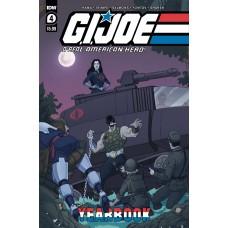 GI JOE A REAL AMERICAN HERO YEARBOOK #4