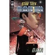 STAR TREK MIRROR WAR DATA #1 CVR A INGRANATA