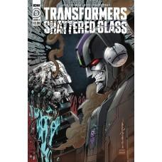 TRANSFORMERS SHATTERED GLASS #5 (OF 5) CVR A MILNE