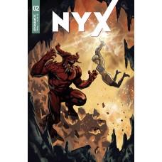 NYX #2 CVR B DAGNINO