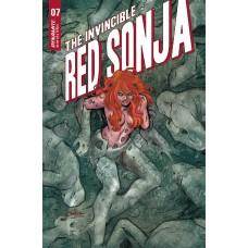 INVINCIBLE RED SONJA #7 CVR A CONNER