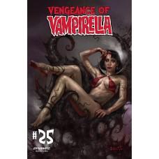 VENGEANCE OF VAMPIRELLA #25 CVR A PARRILLO
