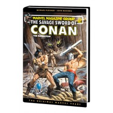 SAVAGE SWORD OF CONAN MARVEL YEARS OMNIBUS HC VOL 07 DM VAR