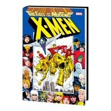 X-MEN FALL OF MUTANTS OMNIBUS HC DAVIS CVR (MR)
