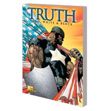 CAPTAIN AMERICA TRUTH TP QUESADA CVR (MR)