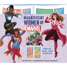 MAGNIFICENT WOMEN OF MARVEL POP UP PLAY & DISPLAY (C: 0-1-0)